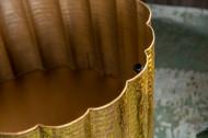 design handgemaakte Salontafel bladgoud look 60cm