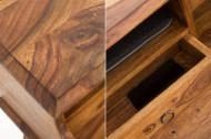 Elegant secretaresse HEMINGWAY L 115 cm Bureau Sheesham massief hout