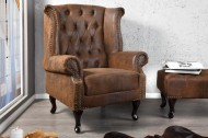 Fauteuil Model: Chesterfield Klassiek - Aniek stof