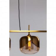 Glamoureuze hanglamp met vier lampenkappen