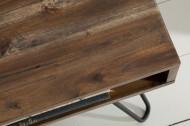 Handgemaakte salontafel SCORPION 110 cm acacia haarspeldpoten