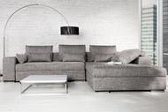 Loungebank Model: Vincenza - Grijs