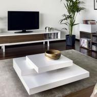 Moderne design salontafel Multi Wit
