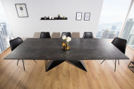 Moderne keramisch uitschuibare eettafel PROMETHEUS