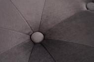 Poef Modern chesterfield 36 cm