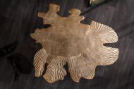Salontafel Goud in een filigraan Bladmotief Leaf 57 cm