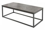 Salontafel 'Rechthoek Parket grijs 120cm