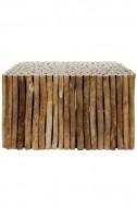Salontafel Tree gemaakt van takken 80x80