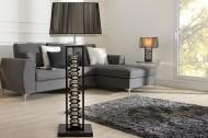 Staande Design lamp Gracia 135cm zilver