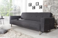 Bank model: Manhattan + Slaapfunctie - Antraciet