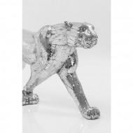 Deco-object Beeld Leopard Mozaïek 95cm