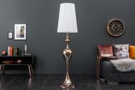 Design vloerlamp Barokstijl LUCIE 160 cm roségouden