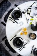 Eettafel marmer rond wit - 120cm