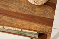 Handgemaakte salontafel SCORPION 60 cm Sheesham haarspeldpoten