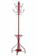 Kapstok Rood Staand Metaal 192cm