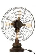 Lamp Ventilator Metaal Bruin