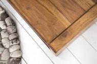 Massief design tv-bord MADEIRA 110 cm sheesham salontafel