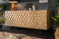 Massief dressoir ORGANIC LIVING 175 cm mangohout organisch design