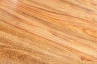 Massieve eettafel PURE 120cm Sheesham steen afwerking indrukwekkende nerf