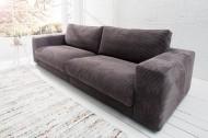 Ontwerp Sofa SEVENTIES Candy levensstijl grijs