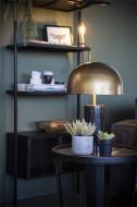 Tafellamp David zwart Marmer & Gold Ijzer