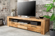 Tv meubel Massief Mangohout IRON CRAFT Tv kast 170 cm met 3 lades