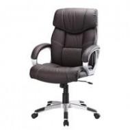 Bureaustoel comfort PU Bruin