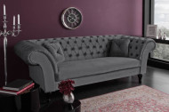 Chesterfield 3-zits bank PARIS 225cm