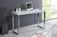 Design laptop DESK 120cm Hoogglans grijs