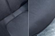 Design Stoel Antiek Grijs THE DUTCH RETRO met armleuningen set van 2