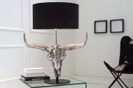 Imposante tafellamp EL TORO 68 cm zwarte stierenkop !!!!