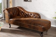 longchair antieke look Chesterfield