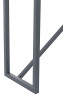 Side Table Beton Finish Rechthoekig Hout/Metaal