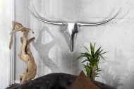 Wandgewei Model: Bull - Zilver - 120cm