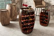 Wijnvat Authentiek wijnrek zoals Tafel 80cm koloniale stijl