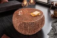 Filigraan design salontafel LEAF 80cm koper handgemaakt