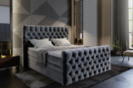 Luxe Box-spring met opbergruimte compleet met matras en topdek in maat 160cm