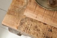 Massieve salontafel OPIUM ANTIQUE 60 cm naturel mangohout