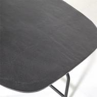 Salontafel Charles zwart - 147x70