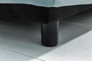 Velours petrol 3-zitsbank Afneembare Hoes Leaf 210 cm