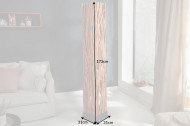 Vloerlamp massiev hout NATURE ART 173 cm