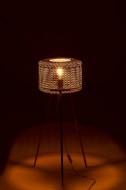 Vloerlamp Metaal goud Driepoten