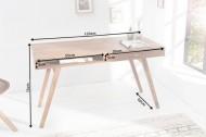 Design Bureau met Lade Massief Sheesham Hout 117 cm