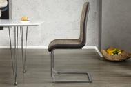 Eettafelstoel Model: Metropolis - Cappuccino / Bruin - 20109