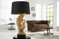 Exclusieve massief houten lamp SWAN hand gesneden uit acaciahout!!!  Leverbaar in Mei