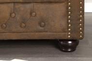Fauteuil Model: Chesterfield - Antiek Stof