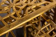 Handgemaakte salontafel Gold 50cm set van 2 goud in gap design