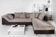 Loungebank Model: Trendy - Bruin / Cappuccino