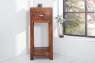Massive Design bijzettafel MONSOON 70cm (telefoontafeltje) van acacia Opvallende afwerking