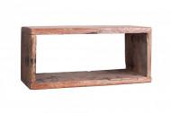 Solide wandplankenset HEMINGWAY gemaakt van gerecycled mahonie